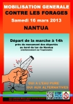 Nantua 16 MARS 2013 Manifestation