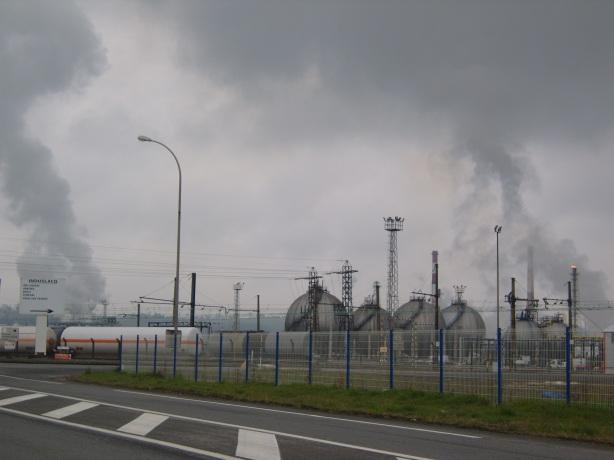 Exploitation du gaz à Lacq (64) – février 2013