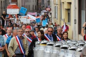 19 10 2013 Saint Claude ouverture de manifestation AOC
