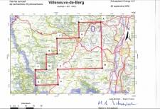 Carte PERH Villeneuve de Berg