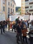 Manif saint claude 19 octobre 2013 gloabalfrackdown stop gaz de schiste franche comté