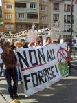 Manif Saint Claude non aux forages 19 octobre 2013
