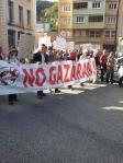 Manifestation saint claude 19 octobre 2013 No Gazaran stop gaz de schiste