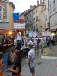 Manifestation Saint Claude Stop gaz de schiste 19 octobre 2013