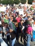 Rassemblement stop gaz de schiste Saint claude 19 octobre 2013