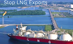 Stop LNG export