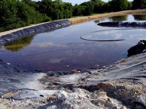boues de forage bassin rétension