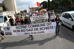 NARBONNAIS STOP GAZ DE SCHISTE