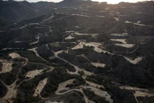fracking en montagne