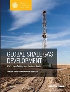 WWRI shale gas gaz de schiste eau et risques Rapport résumé