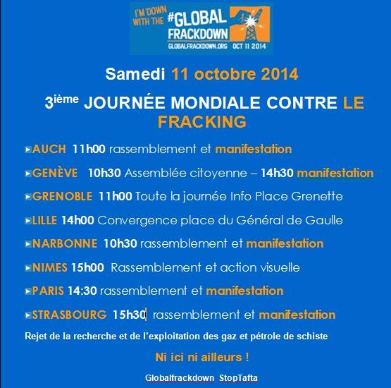 global frackdown FR