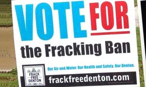 denton frack ban