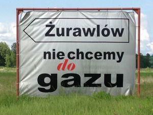 Zurawlow does not want gas gaz de schiste