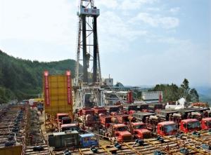 Chine gaz de schiste