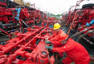 gaz de schiste Chine fracking