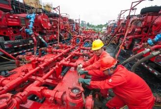 gaz de schiste Chine fracking