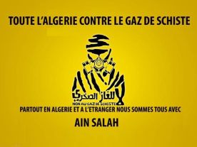 stop gaz de schiste Algerie