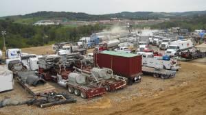 equipement de fracking marcellus shale gaz de schiste