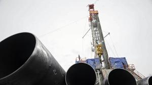 Etude lie haut niveau de radon a la fracturation hydraulique stop gaz de schiste