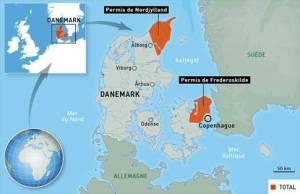 permis gaz de schiste TOTAL danemark