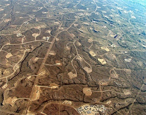 puits de fracturation fracking gaz de schiste