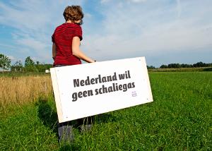 schaliegas stop gaz de schiste Pays Bas