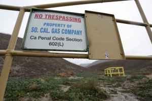 fuite gaz methane californie