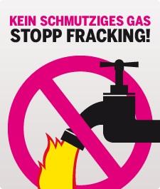 fracking stop gaz de schiste Allemagne-