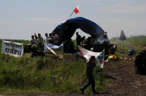 stop au gaz de schiste zurawlow pologne Wieslaw Tryniecki