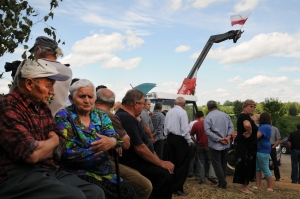stop gaz de schiste Occupy Chevron Żurawlów Pologne